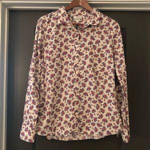 J Crew Womens Button Up Shirt Size 12